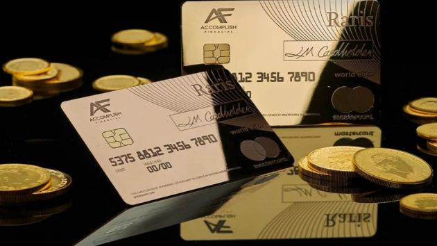 Raris golden card